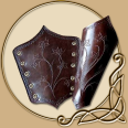 Leather Armour - Elven Maid Bracers